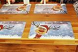 Kamaca 3 er Set Keksdosen Gebäckdosen Aufbewahrungsdosen rund praktisch und stillvoll zu Winter Advent Weihnachten (3er Set Gebäckdose Frohe Weihnachten)