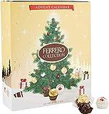Ferrero Collection Adventskalender 2020 mit weißer, Milchschokolade und Bitterschokolade. Adventskalender, 271 g
