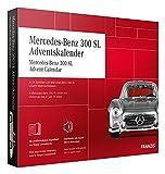 FRANZIS 67129 - Mercedes-Benz 300 SL Adventskalender 2020 – in 24 Schritten zum Mercedes-Benz 300 SL unterm Weihnachtsbaum, Bausatz für das detailgetreue Modell im Maßstab 1:43, empfohlen ab 14 Jahren