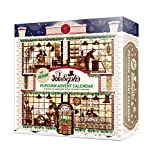 Joe & Seph's Vegan Popcorn Advent Calendar   24 x Individual Bags   Gluten Free   Suitable for Vegetarians   Vegan Friendly