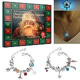 Adventskalender, Weihnachts-Adventskalender, Adventskalender 2021 DIY Armbänder Schmuck, Weihnachts-Adventskalender Schmuck, Weihnachtsgeschenke.