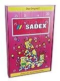CAPTAIN PLAY   Sadex Adventskalender   Sadex Brause Retro Süßigkeiten ohne Schokolade   360g