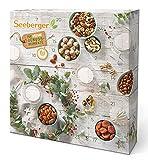 Seeberger Adventskalender 2021 I Vegan Edition: Weihnachtskalender mit 24 natürlichen Snacks - befüllt mit leckeren Nüssen, Trockenfrüchten & Fruchtkugeln - ohne Zusatz von Zucker & Salz, vegan