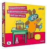 FRANZIS 67185 - Experimentier-Adventskalender 2021 mit der Maus, 24 Experimente zum Staunen, Lachen und Rätseln, für Kinder ab 7 Jahren