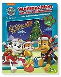 PAW Patrol: Weihnachten mit den Fellfreunden - Ein Adventskalenderbuch: Pappbilderbuch mit 24 Klappen