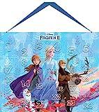 Disney Frozen II Adventskalender Beauty mit 24 hochwertigen Accessoires- und Kinderkosmetik- Überraschungen im süßen Eiskönigin-Design, für Haare, Nägel, Augen & Lippen