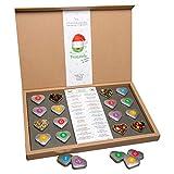 TEALAVIE - Tee Adventskalender 2020 | 24 hochwertige lose Tees in edlen Teedosen | Magnet-Klappschachtel aus Naturpapier | Handmade with love | Teekalender | Weihnachts-Kalender 220g