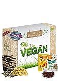 Veganer Adventskalender 2021 BIO-Qualität I tierfreier Adventskalender mit 24 verganen Leckerein für die Adventszeit - veganer Adventskalender I vegane Geschenkidee pflanzlicher Adventskalender