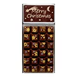 Schokolade Weibler Adventskalender Zartbitterschokolade Geschenkverpackung Weihnachtskalender