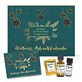 Adventskalender Frauen Wellness 2021 Edition, mit Naturkosmetik, Duftware und Deko, Entspannung Weihnachtskalender für Frauen mit 24 Überraschungen