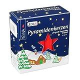 Pyramidenkerzen groß rot für große Pyramiden Größe 17,2x105mm Inhalt 18 Stück