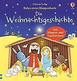 Babys erstes Klappenbuch: Die Weihnachtsgeschichte: ab 1 Jahr