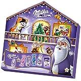 Milka Magic Mix Adventskalender 1 x 204g, Mix aus 7 Milka Leckereien, Zwei zufällige Designs