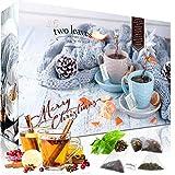 C&T Tee Adventskalender 2020 | 24 Pyramiden Teebeutel 'Single Pack' von Two leaves and a Bud mit Tees & Teemischungen