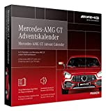 FRANZIS 67103 - Mercedes-AMG GT Adventskalender 2020 – in 24 Schritten zum Mercedes-AMG GT unterm Weihnachtsbaum, Bausatz für das detailgetreue Modell im Maßstab 1:43, empfohlen ab 14 Jahren