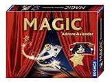KOSMOS 698867 - MAGIC Zauber Adventskalender 2019, Spannende Zaubertricks und Zauber-Utensilien für die Adventszeit, Spielzeug Adventskalender zum Zaubern für Kinder ab 8 Jahren