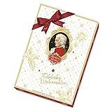 Reber Paar-Adventskalender, 24 Reber-Spezialitäten, Mozart-Kugeln und vieles mehr, Ideales Weihnachtspräsent
