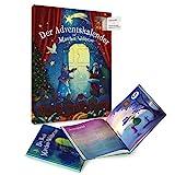 YouHou Adventskalender 'Märchen Weltreise' Weihnachtskalender mit Schokolade und Märchenbuch, Geschenk für Kinder, 24 Schokoladen, 24 schön illustrierte Geschichten, für Mädchen und Jungen