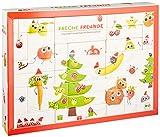 Freche Freunde Bio Adventskalender für Kids, Weihnachtskalender, gefüllt mit 24 Kinder-Snacks & Spiele mit Obst & Gemüse, ohne Industriezucker, ideal für Kleinkinder ab 1 Jahr, vegan
