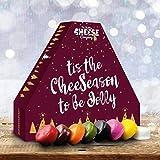 Käse Adventskalender 2020 - 24 Wachs-Truckle-Käse - Käse-Saison to be Jolly