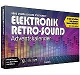 FRANZIS 67176 - Elektronik Retro-Sound Adventskalender 2020 – in 24 Schritten einen Synthesizer mit Retro-Sound aus den 70ern und 80ern bauen, ab 14 Jahren