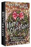 Maybelline New York Adventskranz, Mini Adventskalender mit Kosmetik hinter 5 Türchen, Beauty Adventskalender 2020 mit Schminke