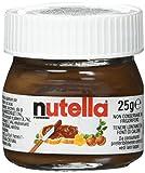 Nutella Minis 24 kleine Gläser à 25 g zum Gestalten eines Adventskalenders, 600 g