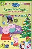 Peppa Pig Adventskalender: mit 24 Mini-Büchern