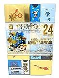 YuMe Maxx19136 Magical Advent Calendar Harry Potter Infinity Adventskalender mit 24 Schubfächern und kleinen Überraschungen, ca. 23 x 11 x 34 cm, Mehrfarbig
