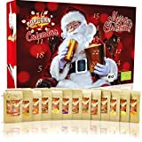 C&T Popcorn Adventskalender 2021   24 Päckchen Popcorn-Mais & Gewürz-Toppings süß bis deftig   24 leckere Gourmet Bio Knabbereien für den Advent + ökologischer Anbau + zum selber machen