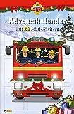 Feuerwehrmann Sam: Minibuch-Adventskalender: Mit 24 Mini-Büchern