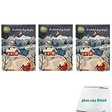 dm Bio Schokokugel Adventskalender '24 schokoladige Kugeln' 3er Pack (3x70g) plus usy Block