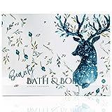 Beauty Bath & Body Adventskalender für Frauen HIRSCH - Wellness Weihnachtskalender