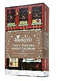 Joe & Seph's 'Tipsy' Popcorn Advent Calendar   24 x Individual Bags   Suitable for Vegetarians   Real Alcohol
