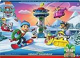 Paw Patrol Adventskalender 2021 mit 24 exklusiven Spielzeugfiguren und Zubehör, ab 3 Jahren