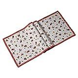 Villeroy und Boch Toy's Delight Gobelin Läufer XL, Tischläufer mit weihnachtlichem Streumotiv aus Baumwolle und Polyester, bunt, 49 x 143 cm