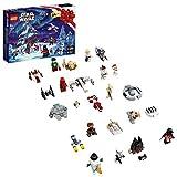 LEGO 75279 Star Wars Adventskalender 2020 Weihnachten Mini Bauset mit legendären Raumschiffen und Charakteren