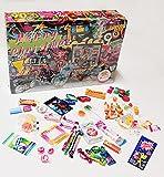 C&T 90er Süßigkeiten Adventskalender 2021   24x Retro Candy der neunziger Jahre   Vintage Nostalgie Weihnachts-Kalender mit Süßigkeiten aus der Kindheit
