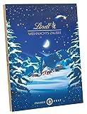 Lindt Weihnachts-Zauber Adventskalender, 24 Türchen mit 14 unterschiedlichen Sorten, 265g