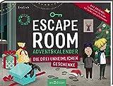 Escape Room. Die drei unheimlichen Geschenke. Ein Gamebuch-Adventskalender für Kinder: Das Original: Ein Escape-Room-Adventskalender von Eva Eich für Kinder. Löse 24 Rätsel und öffne den Ausgang