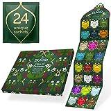 Pukka Herbs Tee-Adventskalender 2020 ohne Schokolade der perfekte Adventskalender für Teeliebhaber (24 Beutel)