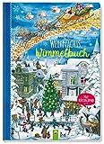 Weihnachtswimmelbuch: Mit Rätselspaß