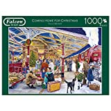 Jumbo 11266 Coming Home for Christmad-1000 Teile Puzzlespiel, Mehrfarben
