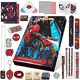 Marvel Adventskalender 2021 Kinder, Spiderman Schreibwaren Adventskalender Kinder