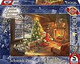 Schmidt Spiele 59495 Pz. Der Weihnachtsmann ist da 1000T, Bunt