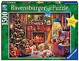 Ravensburger Puzzle 16558 - Heiligabend - 1500 Teile Puzzle für Erwachsene und Kinder ab 14 Jahren, Weihnachtspuzzle