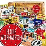 Frohe Weihnachten   Adventskalender DDR   DDR Artikel in 24 Türchen   Ossi Paket   weihnachtlich verpackt mit Ostmotiven