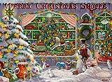 Ravensburger Puzzle 16534 - Es weihnachtet sehr - 500 Teile Puzzle für Erwachsene und Kinder ab 10 Jahren, Weihnachtspuzzle