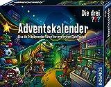 Kosmos Die drei ??? Adventskalender 2020 Löse die 24 spannenden Rätsel der mysteriösen Spielfiguren, Spielzeug-Adventskalender für Kinder ab 8 Jahre, Krimi Geschichte bis Weihnachten