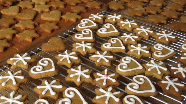 Lebkuchen backen zur Weihnachtszeit
